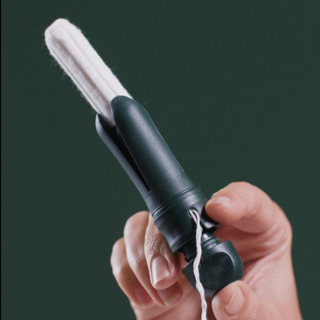 reusable tampon applicator
